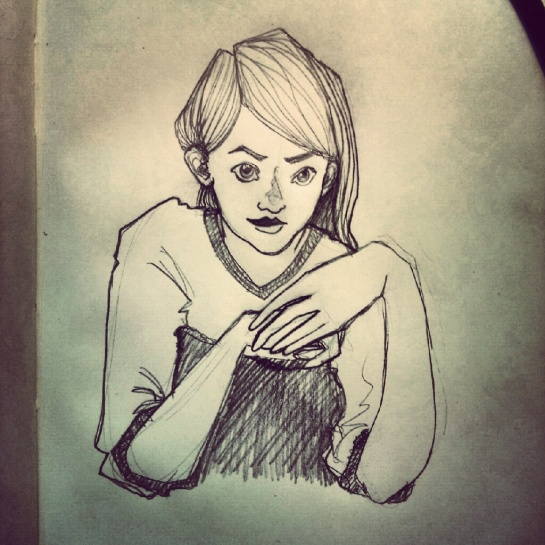 Another doodle taken with Instagram